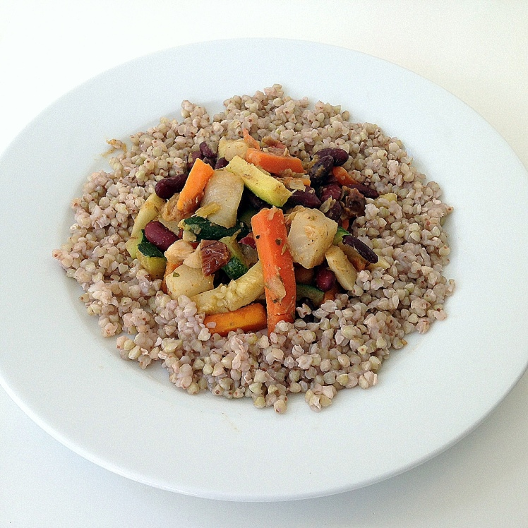 Tajine végétarienne au sarrasin