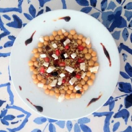 Boulgour végétarien sucré-salé