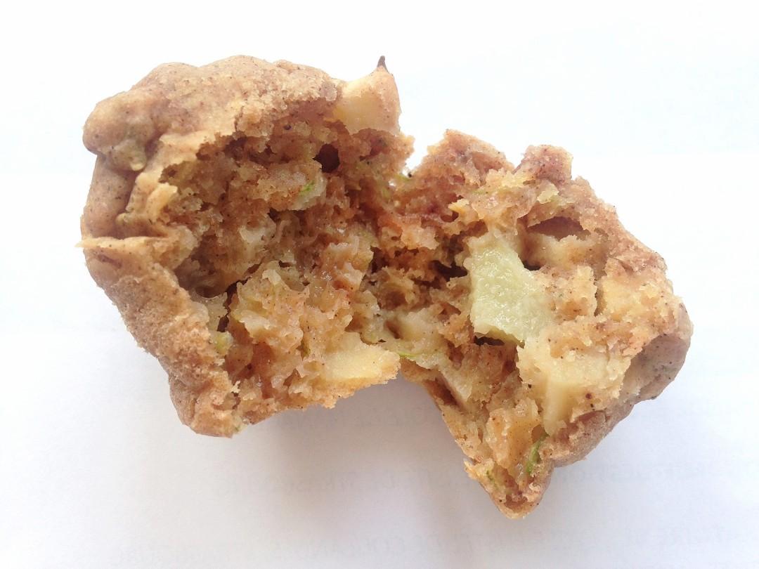 Gâteau aux pommes vegan et sain (aux courgettes et sans oeuf)