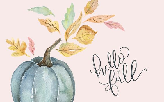 Fond d'écran automne Hello Fall