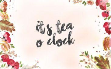 Fond d'écran automne - Tea o'clock