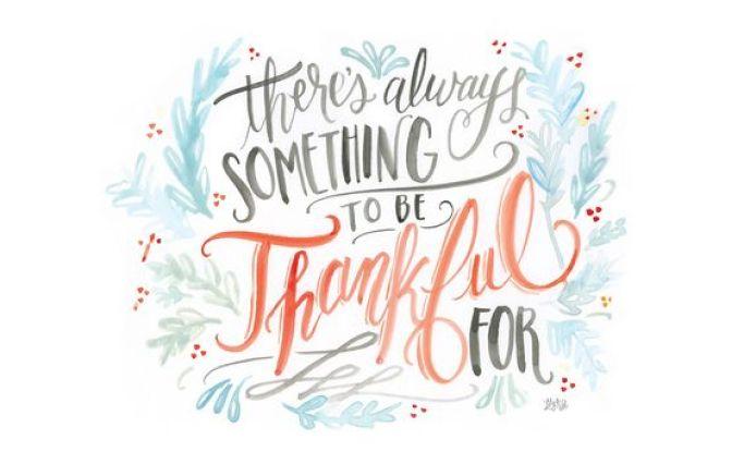 Fond d'écran automne - Thankful